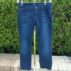 7 For All Mankind Blue Jeans Size W30